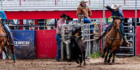 Dodge City High School Team Roping