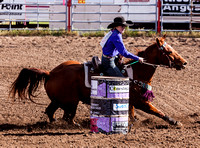 Dodge City Jr High Barrel Racing