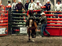 Saddle Bronc KHSRA State Finals Second Go 2017-2018