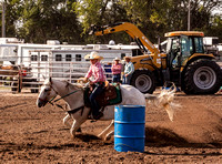 Jr High Barrel Racing 17-18 Canton Saturday